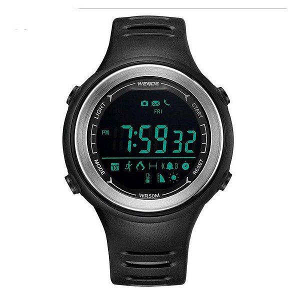 Relógio Smart Pedômetro Masculino Weide WS-001 - Preto