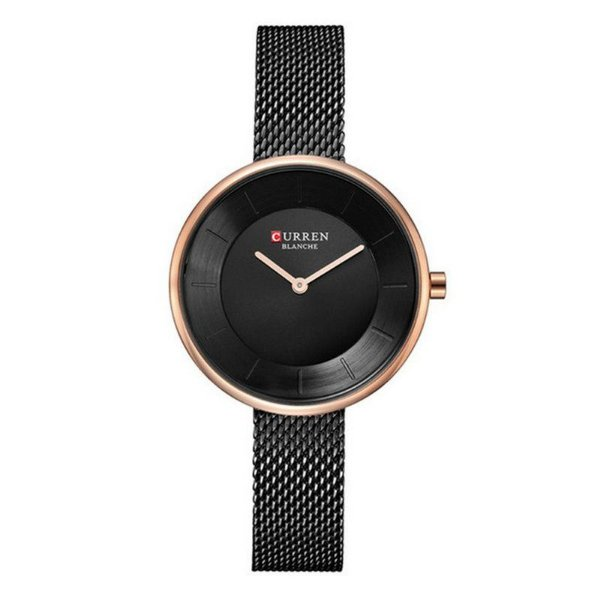 Relógio Feminino Curren Analógico C9030L - Preto