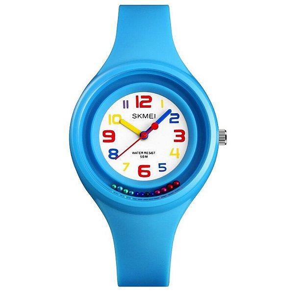 Relógio Infantil Skmei Analógico 1386 Azul