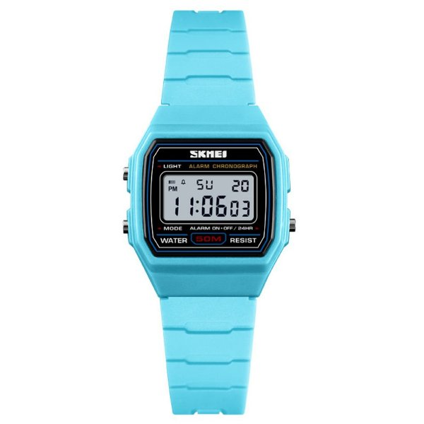 Relógio Infantil Menina Skmei Digital 1460 - Azul