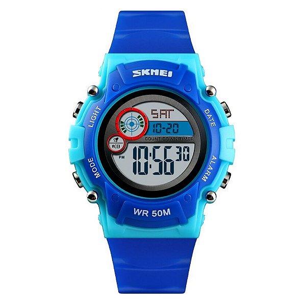 Relógio Infantil Skmei Digital 1477 Azul