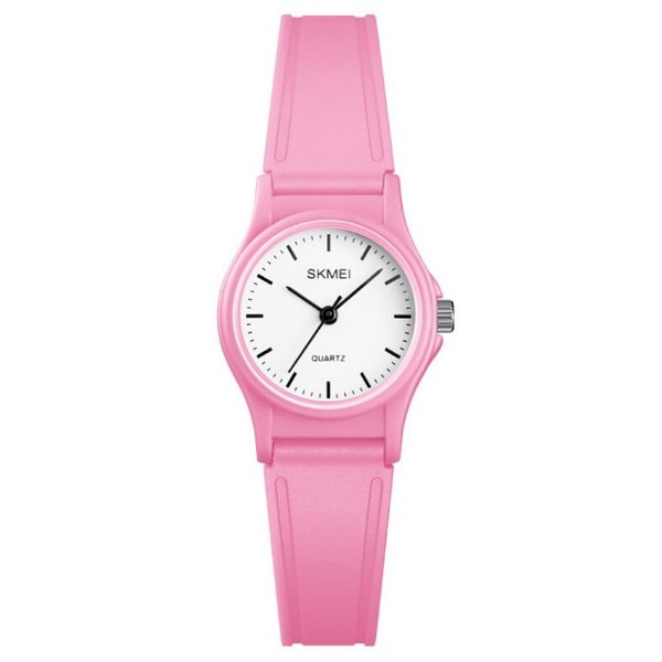 Relógio Infantil Skmei Analógico 1401 Rosa