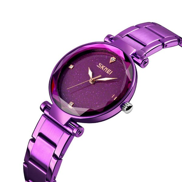 Relógio Feminino Skmei Analógico 9180 - Roxo