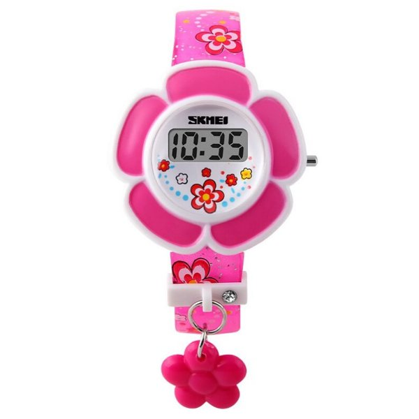 Relógio Infantil Menina Skmei Digital 1144 - Rosa