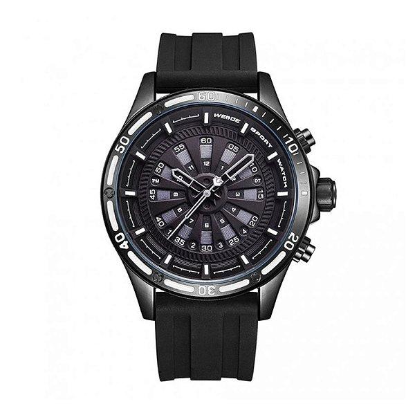 Relógio Masculino Weide Analógico WH-7308 - Preto e Branco
