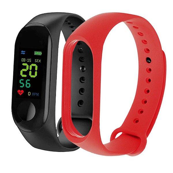 Relógio Smart Unissex Tuguir Digital M3 - Preto