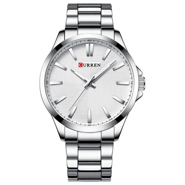 Relógio Masculino Curren Analógico 8322 - Prata