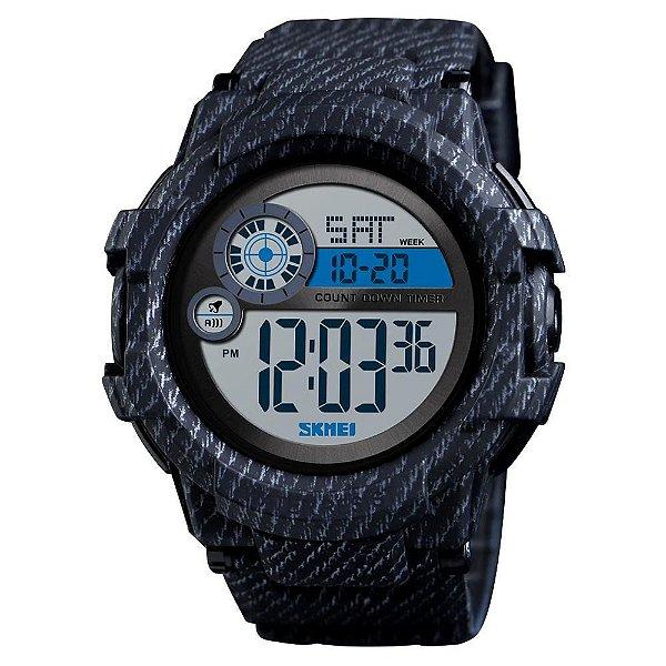 Relógio Masculino Skmei Digital 1387 - Preto e Cinza