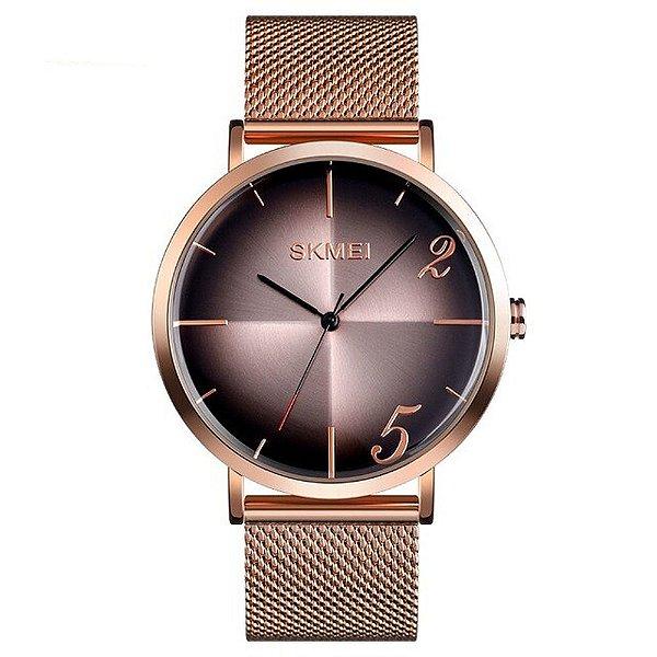 Relógio Feminino Skmei Analógico 9200 - Rose