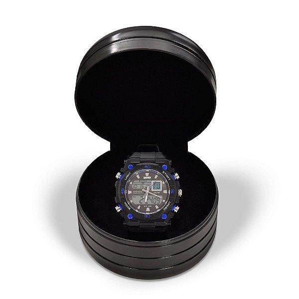 Relógio Masculino Skmei AnaDigi 1092 - Preto e Azul