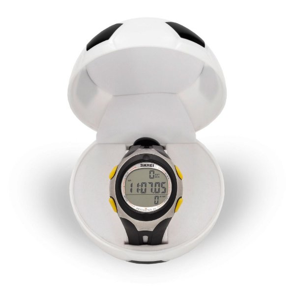 Relógio Pedômetro Masculino Skmei Digital 1107 - Preto e Prata