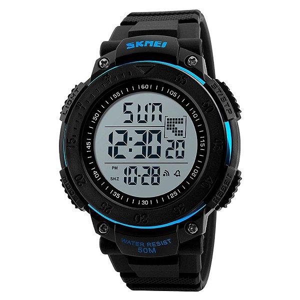 Relógio Masculino Skmei Digital 1237 - Preto e Azul