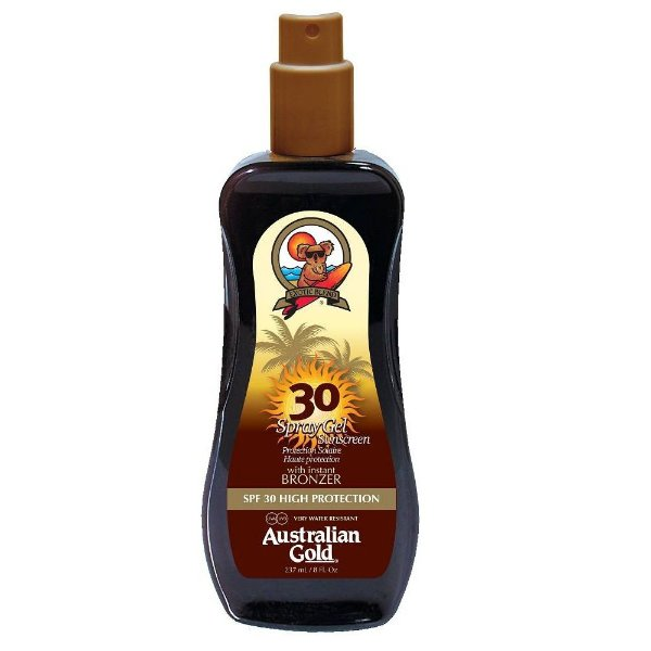 Bronzeador AUSTRALIAN GEL SPRAY SPF30 237ml