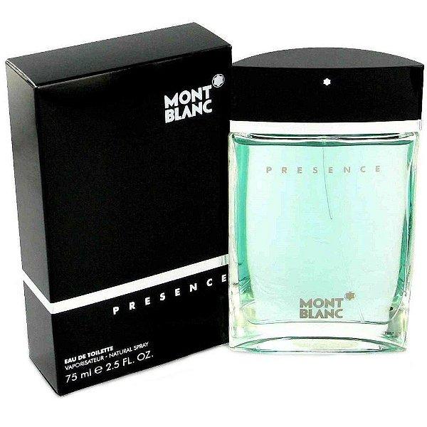 Perfume Mont blanc Presence EDT 75ML