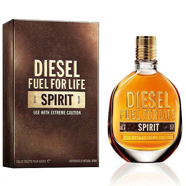 Perfume Diesel Fuel For Life Spirit Masculino 75 m