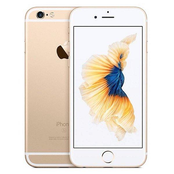 "Celular Smartphone Apple Iphone 6S  4,7"" 128GB - Dourado Garantia de 1ano Brasil"
