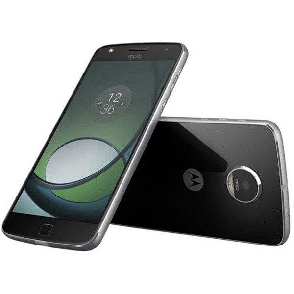 Smartphone Motorola Moto Z Play XT-1635-02 Dual Sim LTE 32GB/3GB Câm.16MP/5MP Preto