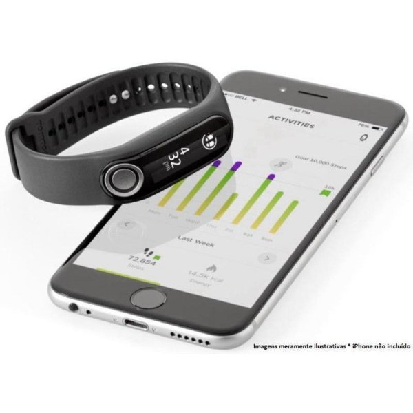 Pulseira TomTom Touch Fitness Tracker (Large)