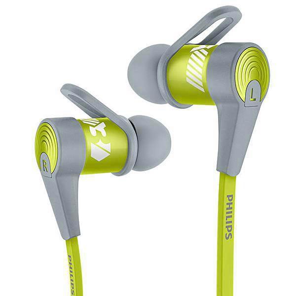 Fone de Ouvido Philips SHQ7300R/27 ActionFit Bluetooth V. 3.0+EDR /NFC- Verde