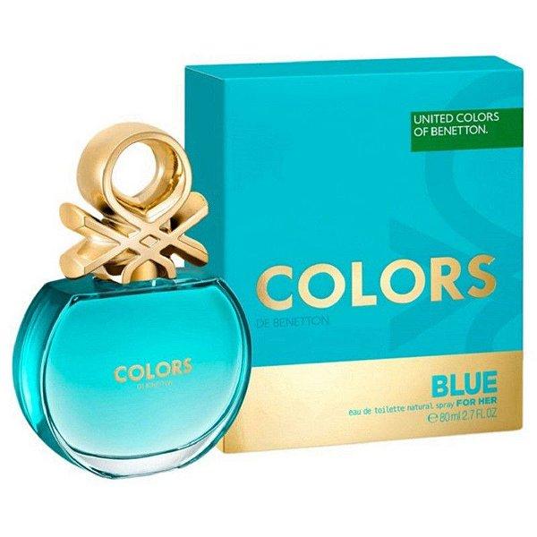 b77fcfc5d79 Perfume Benetton United Colors Blue 80 Ml Feminino EDT ...