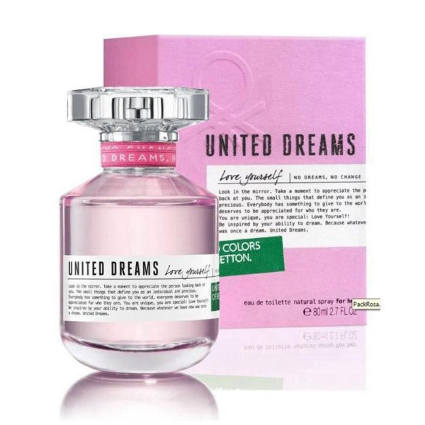 Perfume Benetton United Dreams Love Yourself 80ml