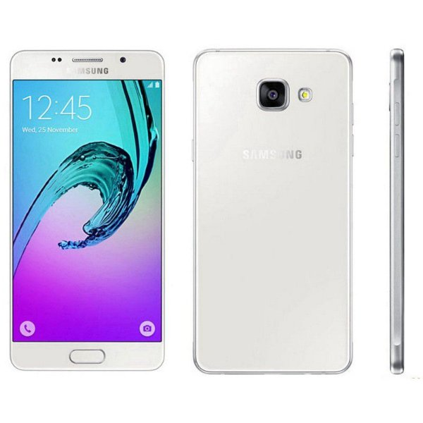 "Samsung Galaxy A7 SM-A7100 16GB LTE Dual Sim Tela 5.5""FHD Câm.13MP+5MP - Branco"
