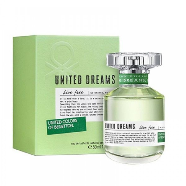 Perfume Benetton Dreams Live Free EDT 80ML