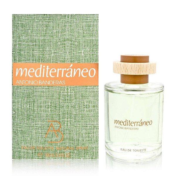 Perfume Antonio Bandera Mediterrâneo EDT 100 ML