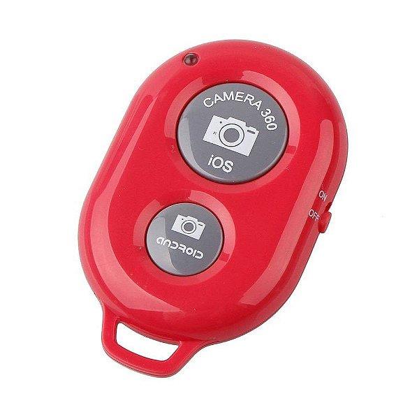 Selfie Controle RS1005 Bluetooth Vermelho