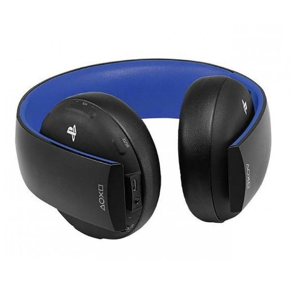 Fone De Ouvido Sony Gold Wireless Stereo Headset 7.1 PS3/PS4