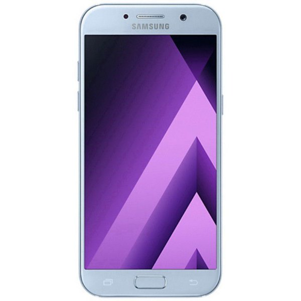 "Samsung Galaxy A7 SM-A7100 16GB LTE Dual Sim Tela 5.5""FHD Câm.13MP+5MP - Azul"