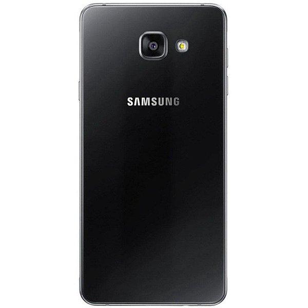 "Smartphone Samsung Galaxy A7 SM-A720F 32GB LTE 1Sim Tela 5.7""FHD Câm.16MP+16MP- Preto"