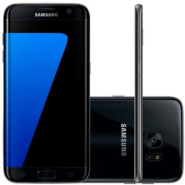 "Smartphone Galaxy S7 G930A 5.1"" 32GB 4GB Ram 4G Lte Preto"
