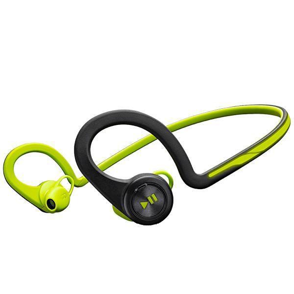 Fone Sem Fio Plantronics BackBeat Fit com Bluetooth v.3.0 - Verde/Preto