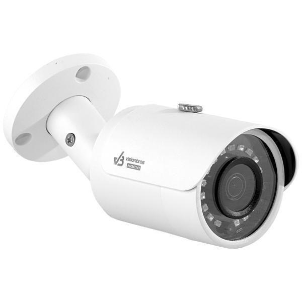 Câmera de Vigilância VisionBras HDCVI HFW1200S-S3 1080p 3.6mm/6.0mm com Infravermelho