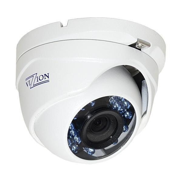 Câmera CCTV Vizzion VZ-DC0T-IRM 3.6mm/ HDTVI/ Infravermelho - Branco