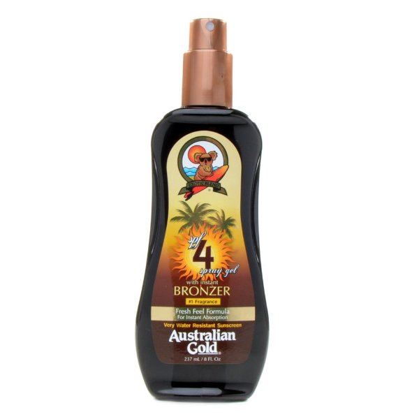 Spray Gel c/ Bronzeador FPS 4 Australian Gold