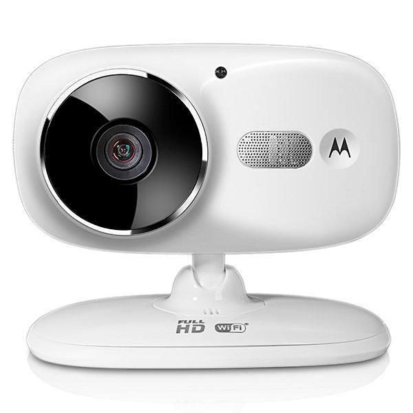 Câmera IP Motorola FOCUS86 1MP/Visão Noturna/Wi Fi - Branco
