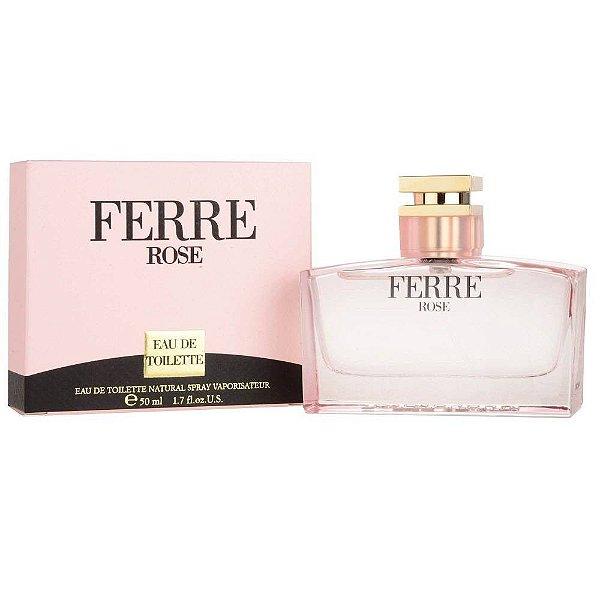 Perfume Gianfranco Ferre Rose EDT F 50ML