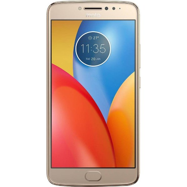 "SMARTPHONE MOTOROLA MOTO E4 PLUS XT1773 5.5"" 16GB 2GB RAM DUAL 4G LTE DOURADO"