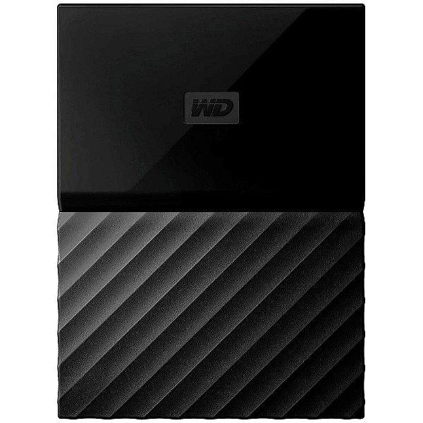 HD EXTERNO WESTERN DIGITAL 3 TB PORTATIL PASSPORT NEW PRETO