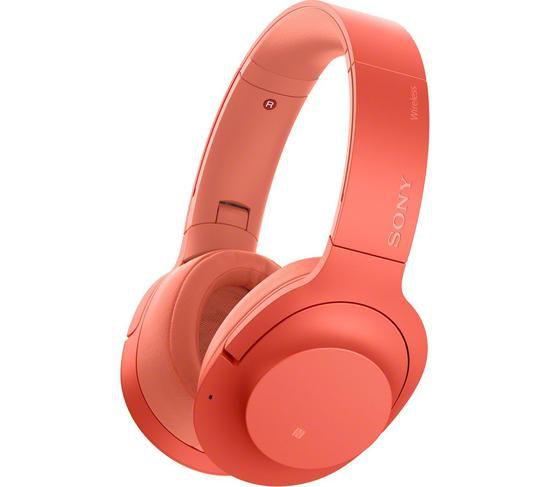 Fone de Ouvido Sony WH-H900 Bluetooth Vermelho