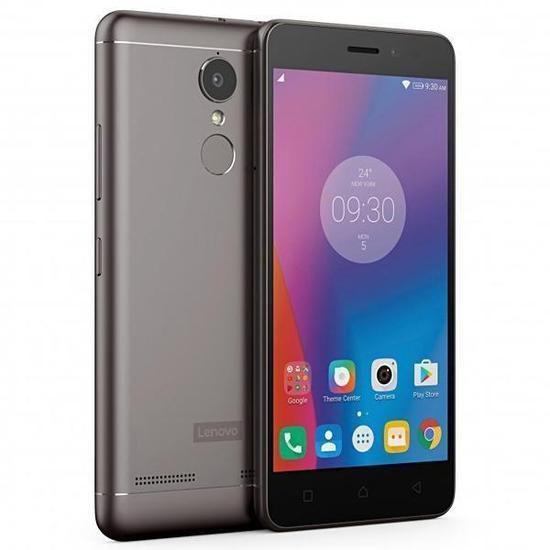 "Smartphone LENOVO VIBE K6 32GB Single 4G 5"" 13MP/8MP  Cinza"