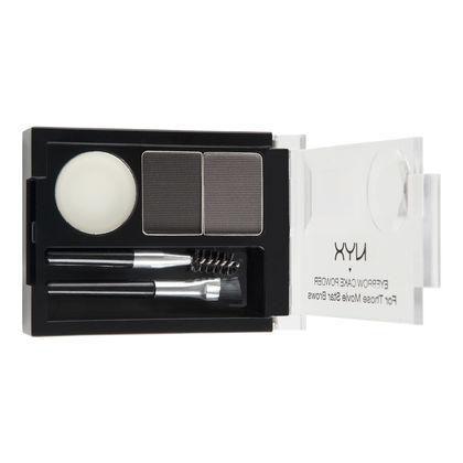 Kit de Maquiagem NYX Eyebrow Cake Powder ECP01 Black Grey