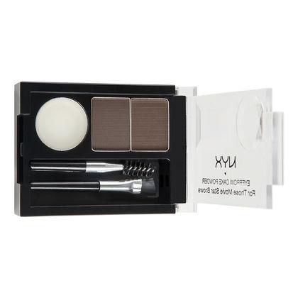 Kit de Maquiagem NYX Eyebrow Cake Powder Dark Brown