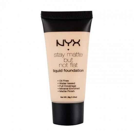 Base Liquida NYX Matte Foundation Sien