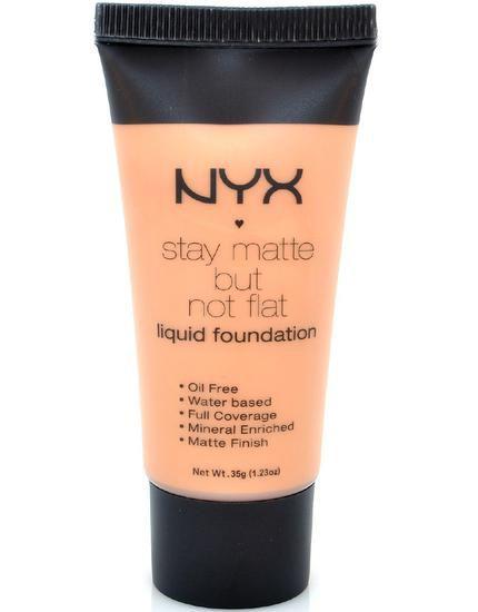 Base Liquida NYX Stay Matte But Not Flat SMF09 Tan