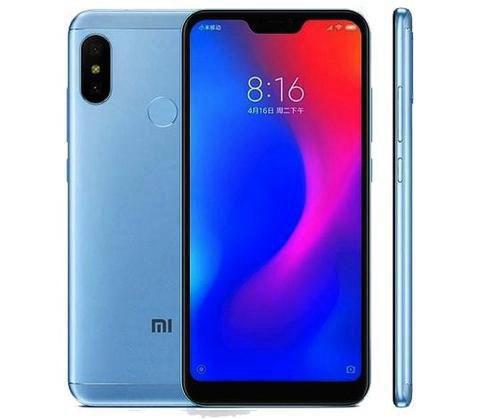 Smartphone Xiaomi Mi A2 Lite Dual Global 64GB 4GB Azul