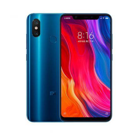 Smartphone Xiaomi Mi 8 Dual Global 64GB RAM 6GB Azul