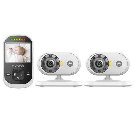 Babá Eletrônica Motorola MBP-25 2.4 C/2 Câmeras Bivolt